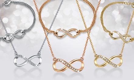 Infinitely Yours  Armband, Halskette oder beides in Gold oder Silber inkl. Versand