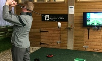 One-Hour Golf Simulator Experience for Two at Boringdon Park Golf Club