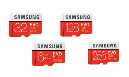 From $16 for a 32GB Samsung Micro SD Card Evo Plus SDXC with Adapter (Don't Pay up to $199)
