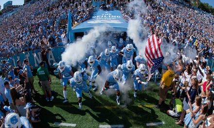 College Football: UNC vs. Georgia Tech on 11/3, UNC vs. Western Carolina on 11/17, or UNC vs. NC State on 11/24