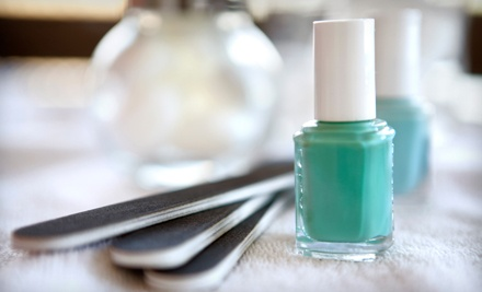 One or Two Shellac Manicures with Basic Pedicures at Style Nails (Half Off)