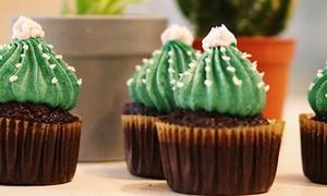Mary Cherry: Boisson chaude et pâtisserie pour 2 ou 4 personnes ou 6 cupcakes à emporter dès 8,90 € chez Mary Cherry