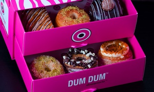 Dum Dum Donutterie: Up to 12 Donuts or Cronuts or One or Two Cronuts and Coffees at Dum Dum Donutterie (Up to 49% Off)