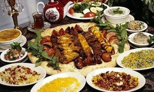 Ristorante Pkpersian Kobide: Menu persiano All you can eat con calice di vino per 2 o 4 persone al Ristorante Pkpersian Kobide (sconto fino a 65%)