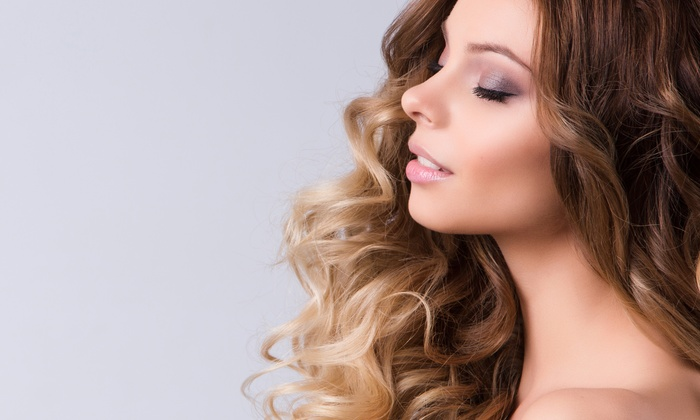 Pure Hair Studio - River Vale: Blowout or Haircut with Optional Partial or Ombre Highlights at Pure Hair Studio, An Aveda Salon (Up to 61% Off)