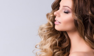 Pure Hair Studio: Blowout or Haircut with Optional Partial or Ombre Highlights at Pure Hair Studio, An Aveda Salon (Up to 61% Off)