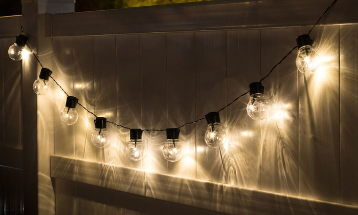 Up To 66% Off On Solar Market LED String Lights | Groupon Goods