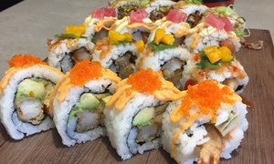 Mr. Munchies Sushi: Sushi Platter and Miso Soup for Two ($19) or Four People ($35) at Mr. Munchies Sushi (Up to $78 Value)