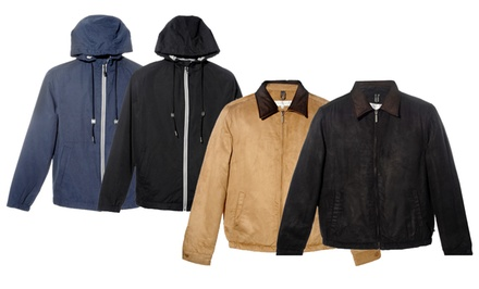 Geoffrey Beene Men's Jackets. Multiple Styles and Colors Available.