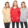 Totes Women's Ruched-Trim Rain Jacket