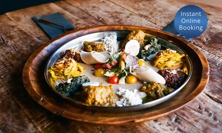 Two Course EthiopianDinner for Two ($35), Four ($69), Six ($103) or Eight People ($137) at Blue Nile (Up to $268 Value)