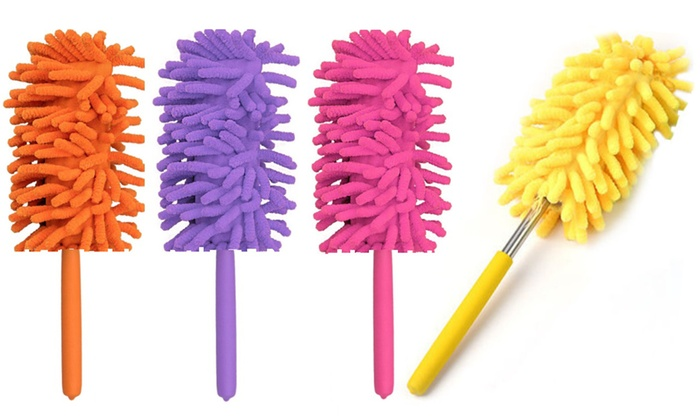 One, Two or Four Telescopic Microfibre Cleaning Dusters for £1.50