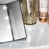 LED-Light Tri-Fold Mirror