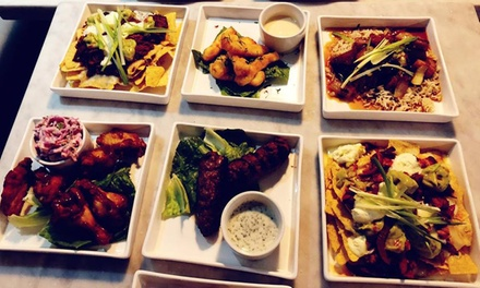 Five Tapas to Share Between Pairs and Wine or Sangria Each for Two or Four at Barca Bar & Restaurant