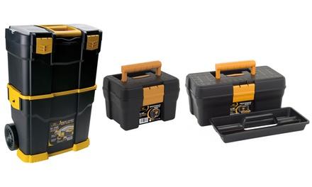 3 valigie portautensili Art plast