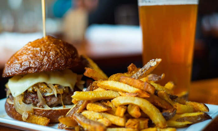 Local Burger - Downtown Bellvue: $18 for $30 Worth of Sustainable Burgers, Beers, and Cocktails at Local Burger