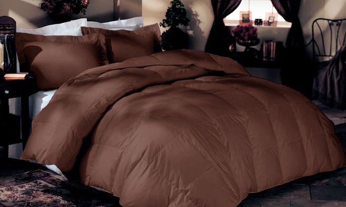 5-Piece Hypoallergenic Solid Comforter Set: $69.99 for a 5-Piece Solid Comforter Set