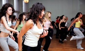 Dance It Off with Kim: 6, 10, or 20 Dance and Zumba Classes at Dance It Off with Kim (Up to 65% Off)