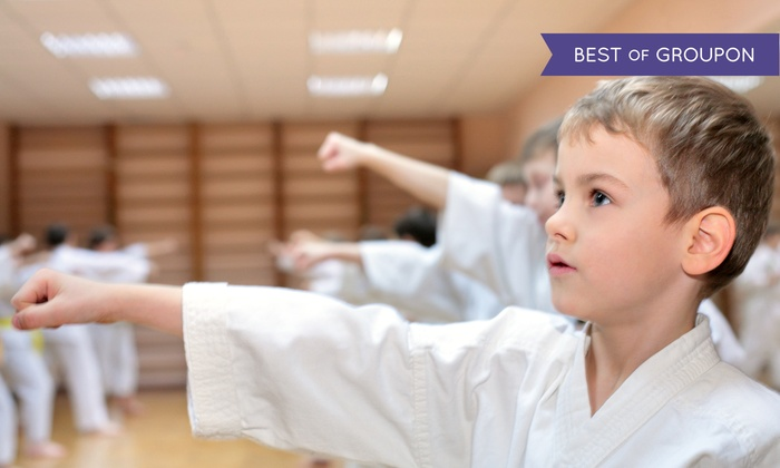 Kids Love Martial Arts - Multiple Locations: 10- or 20-Class Pass with One or Two Private Sessions at Kids Love Martial Arts (Up to 91% Off)