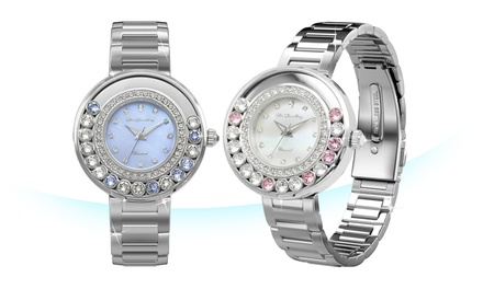 From $89.90 for a Diamond Series Glamour Watch by Her Jewellery (worth up to $1,399.80). 2 Colours
