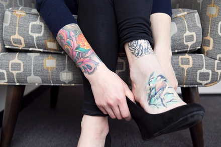 One Hour of Tattooing at Goodbody Arts (45% Off)