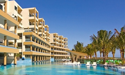 5-, 6-, or 7-Night Gourmet All-Inclusive Riviera Maya Vacation with Airfare. Price/person Based on Double Occupancy.