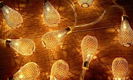 Globrite ledslinger met 10 lampjes