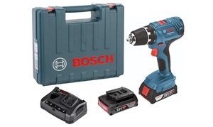 Bosch Perceuse 18V+2 Batteries