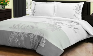 Superior Sydney 100% Cotton Duvet Cover Set (3-Piece)