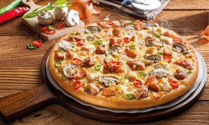 The Pizza Company: Two Medium or Large Pizzas at The Pizza Company, Multiple Locations (Up to 50% Off)