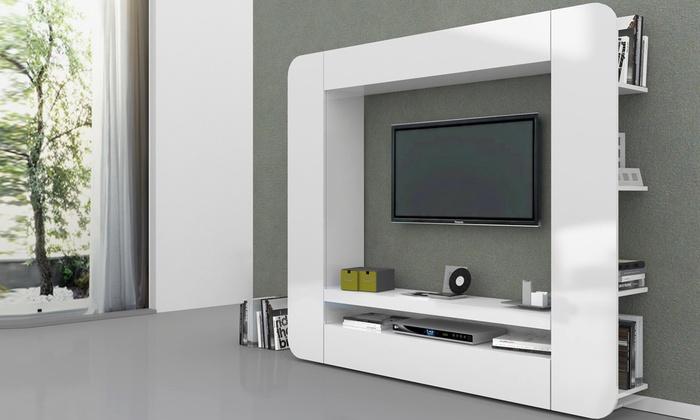 Parete da soggiorno groupon goods for Groupon mobili soggiorno