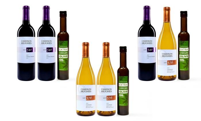 Cameron Hughes Wine and Olive Oil Bundle (3-Piece): Cameron Hughes Wine and Olive Oil Bundle (3-Piece)