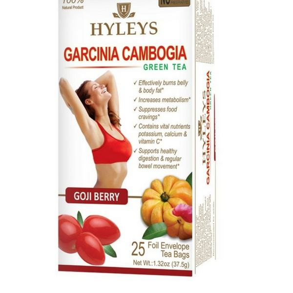 Hyleys Slim And Garcinia Cambogia Weight Loss Teas 50 Count