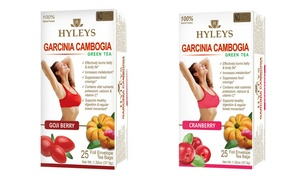 Hyleys Slim and Garcinia Cambogia Weight Loss Teas (50-Count)