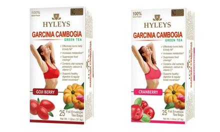 Hyleys Slim And Garcinia Cambogia Weight Loss Teas 50 Count