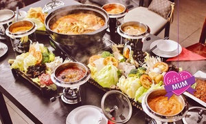Beijing Hot Pot: Chinese Lunch with Drink Each for One ($10), Two ($19) or Four People ($35) at Beijing Hot Pot (Up to$63.60 Value)