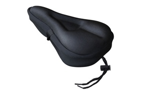 1 ou 2 protections de selles de vélo avec coussins en gel