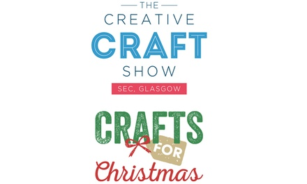 Creative Craft Show with Crafts for Christmas, 25 27 October, SEC, Glasgow