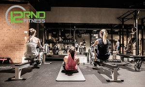 12RND Fitness: Five Class Pass for One ($8) or Two People ($12) at 12RND Fitness - 18 Locations, Nationwide (Up to $250 Value)