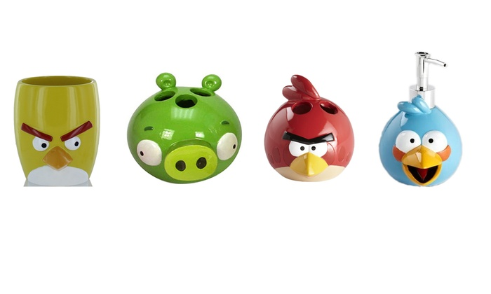 Angry Birds Kids Bathroom Accessories