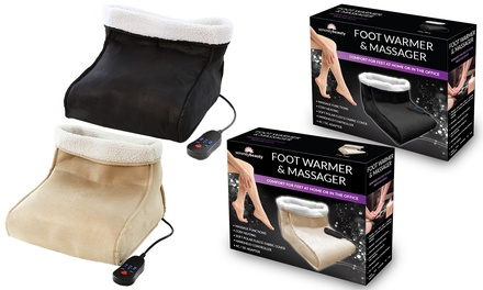 One or Two Foot Warmers and Massagers