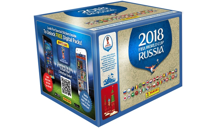 Panini FIFA World Cup 2018 Collection: 100- or 200-Sticker Packs with Optional Starter Pack With Free Delivery for £65
