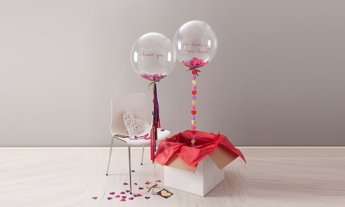 """... or Clear 18"""" Helium Balloons for DIY Projects (3-, 5-, ..."""
