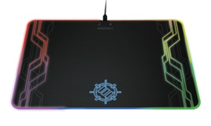 Enhance LED Gaming Mouse Pad with 7 RGB Light Modes