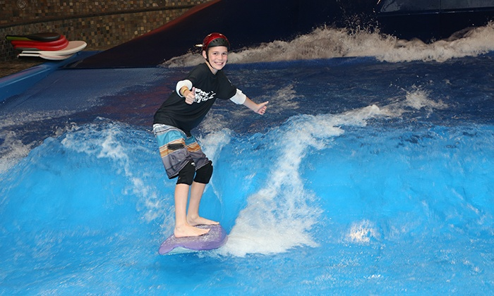Surf's Up - Nashua: Indoor Surfing or Boogie Boarding for One or Two at Surf's Up (Up to 33%  Off)