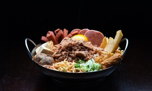 Hot Pot Dinner and Drinks at H.I.T. (Up to 56% Off). Three Options Available.