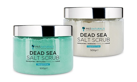 Organic Dead Sea Salt Scrub 500g