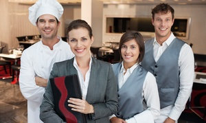 Online Hospitality Course: $5 for an Accredited Hotel & Catering Management Online Course from EventTrix ($199 Value)