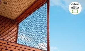 Proteção Redes: 5, 10 ou 15 m² de rede de proteção + instalação com a Proteção Redes