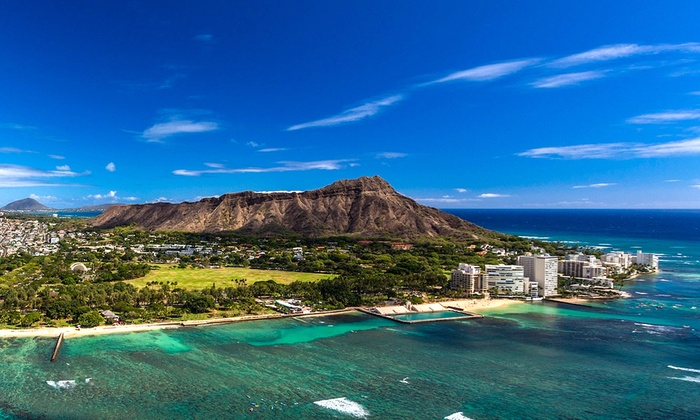 Helicopter Tour Diamond Head